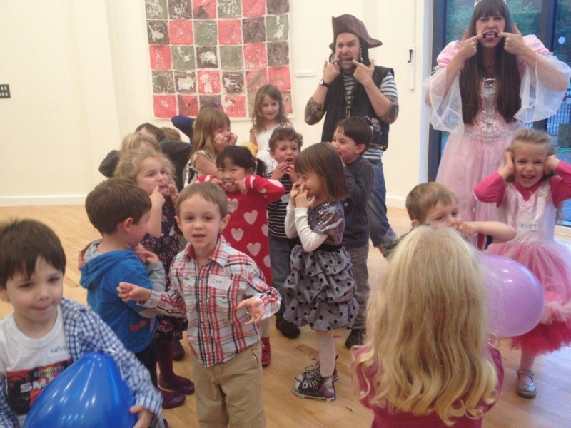 Corporate Party for kids