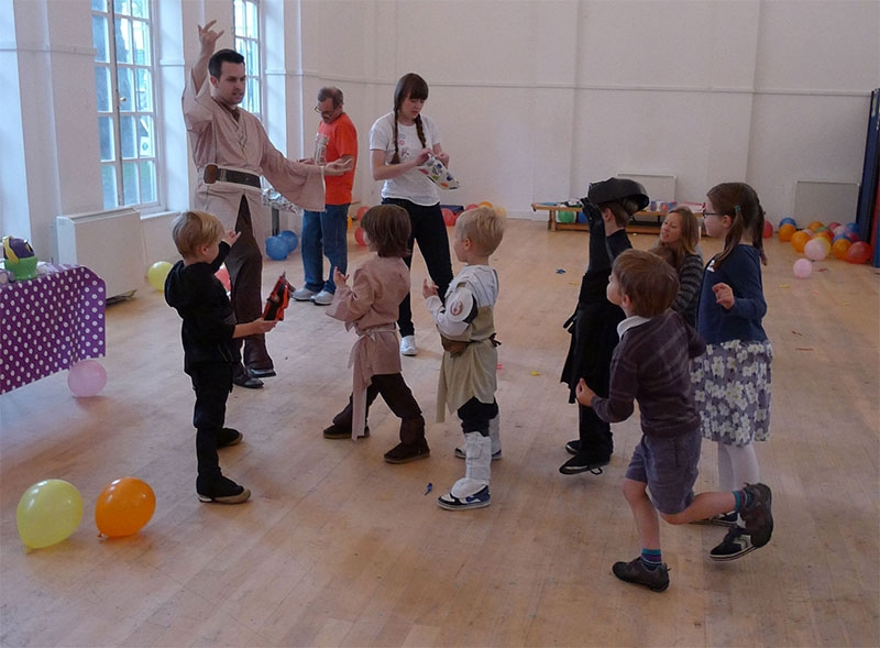 Luke Skywalker Party